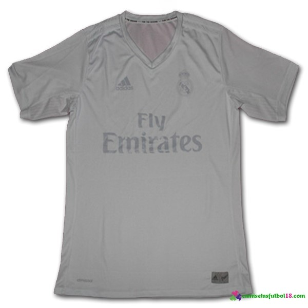 Camiseta Entrenamiento Real Madrid Blanco 2016 2017